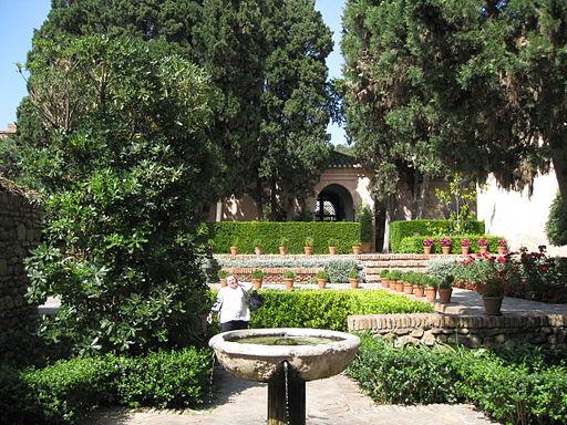 Patio de Surtidores Alcazaba