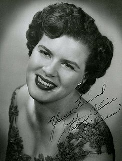 Patsy Cline American country music singer