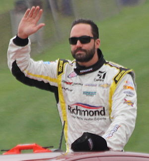 Paul Menard - Menard at Road America in 2015