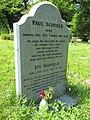 Paul Scofield's gravestone.JPG