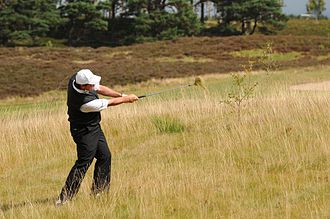 Paul Lawrie - Lawrie comes out from the rough at the Scottish Hydro Challenge