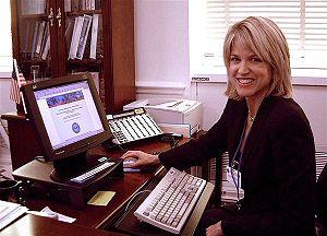 Paula Zahn - Zahn in 2002