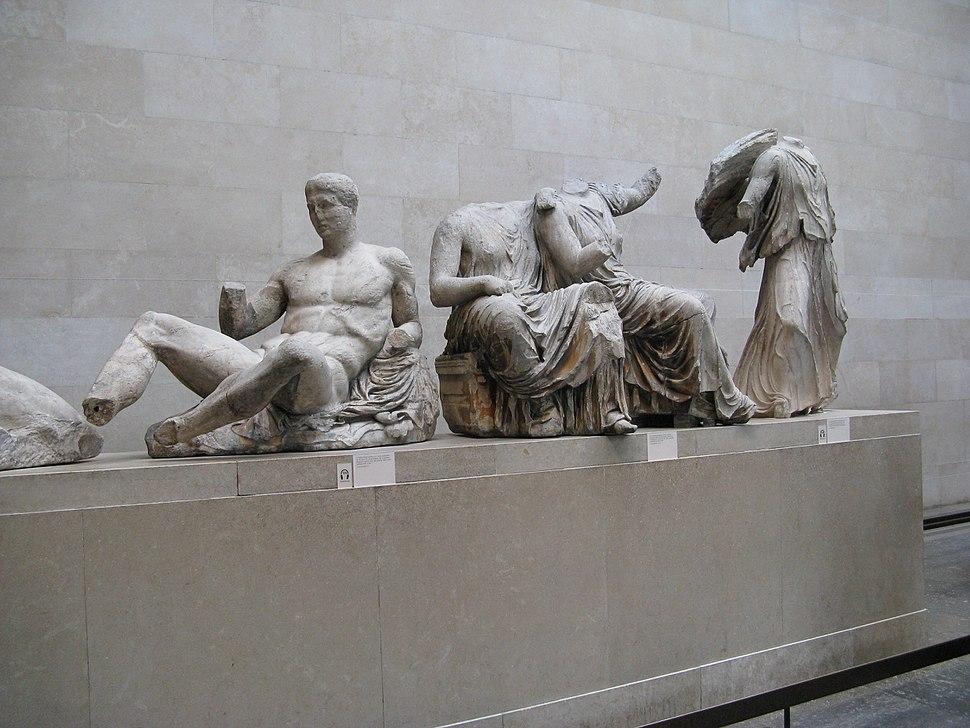 Pediments of the Parthenon-British Museum