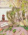 Pekka Halonen - From the Garden - A III 2697 - Finnish National Gallery.jpg