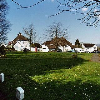 Pendoylan village in Wales