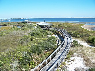 Big Lagoon State Park - Image: Pensacola FL Big Lagoon SP from obs tower 02