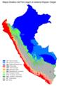 Perú - Köppen-Geiger.png