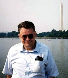 Per Brinch Hansen on vacation in Washington, D.C. (1990)