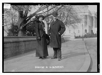 George Walbridge Perkins - Perkins and wife circa 1913
