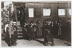 Personal convoy of May-Mayevsky dances lezginka(1919).jpg