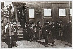 Personal convoy of May-Mayevsky dances lezginka(1919).jpg