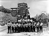 Personnel, 1981- naturalist division, Student Conservation Association (SCA), Zion Natural History Association (ZNHA). ; ZION (0274280e82644af2a4f43ecf0223f1dc).jpg