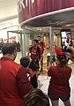Perth Wildcats arrive at Perth Airport 10.jpg