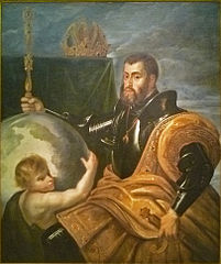 Allegory on Emperor Charles as Ruler of Vast Realms