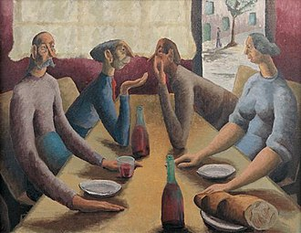 Peter Purves Smith - Image: Peter Purves Smith French Cafe, 1936