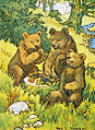 Petherick - Three Picnicking Bears.jpg