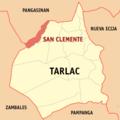 Ph locator tarlac san clemente.png