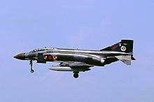 Phantom Landet Auf Fliegerhorst RAF Wildenrath