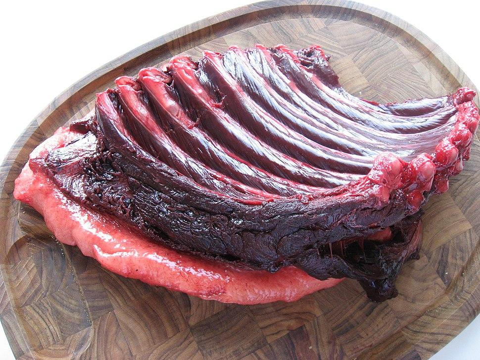 Phoeca groenlandica piece of meat upernavik 2007-06-26
