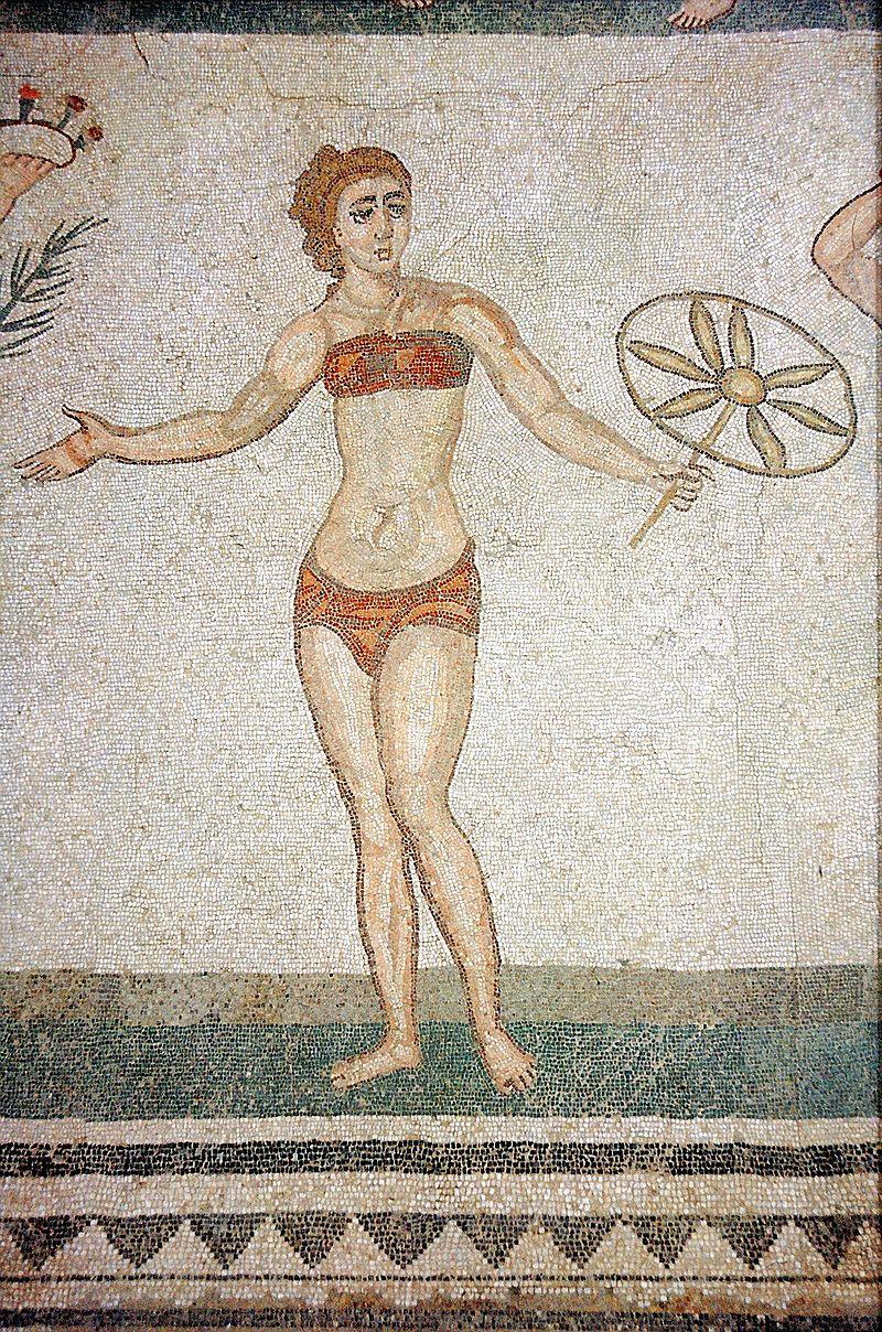 Mosaic Girls in bikini
