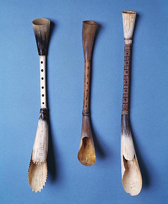 Pibgorn (instrument) - Three examples of Eighteenth Century Welsh Pibgorn