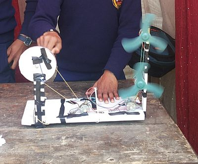 A science project by Rajan raaz pandey