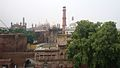 Picture of the Badshahi Mosque taken from inside the Naulakha Pavilion.jpg