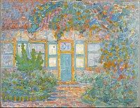 Piet Mondriaan - Huisje bij zon (authentiek) - 0333033 - Kunstmuseum Den Haag.jpg