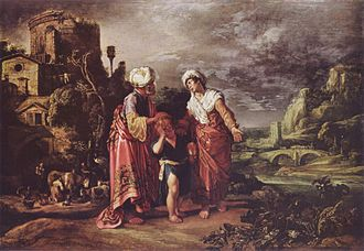 Ishmael - The dismissal of Hagar, by Pieter Pietersz Lastman.