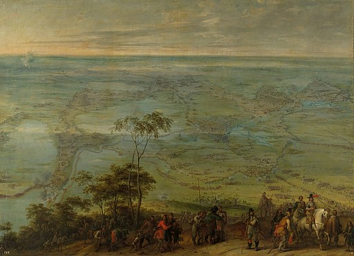 Pieter Snayers - The taking of Breda