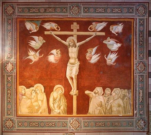Pietro Lorenzetti, Crocifissione, Capella Piccolomini d'Aragona, San Francesco, Siena