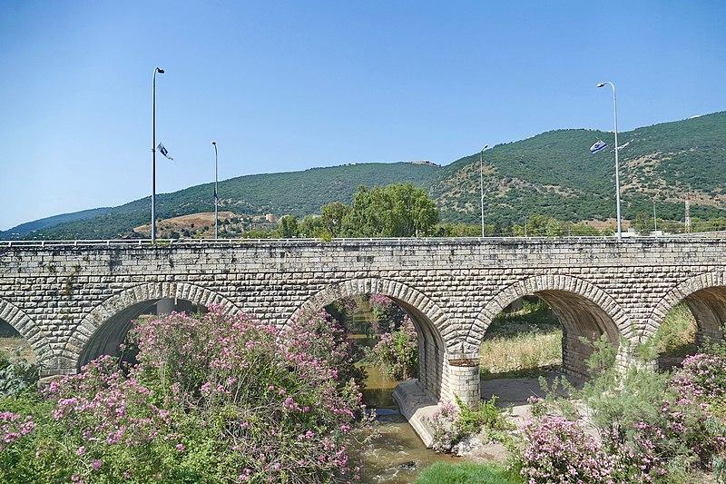 גשר הרכבת מעל הקישון