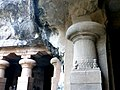 Pillar Cave 1 Elephanta Caves Elephanta Island India - panoramio.jpg