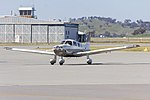 Piper PA-28-181 Archer III (VH-NRP) taxiing at Wagga Wagga Airport (1).jpg