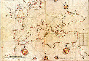 Piri Reis map of Europe and the Mediterranean Sea.jpg