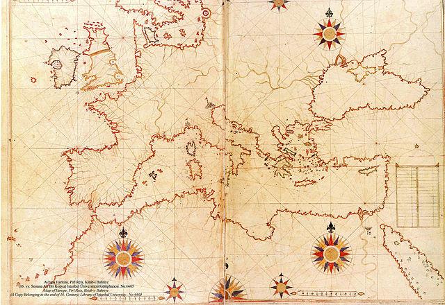 PITANJA BEZ ODGOVORA 640px-Piri_Reis_map_of_Europe_and_the_Mediterranean_Sea