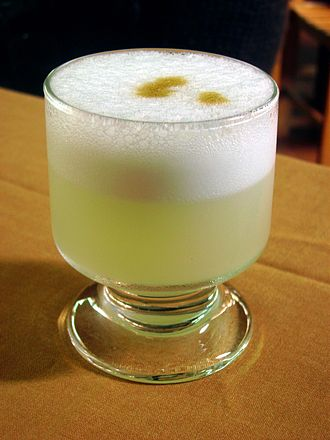 Pisco sour - Peruvian pisco sour