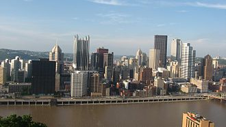 Pittsburgh metropolitan area - View of Pittsburgh from Mount Washington