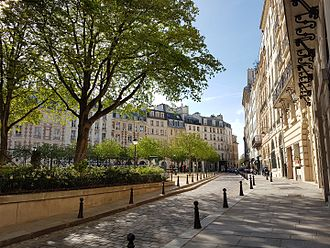 Place Dauphine - Place dauphine, North Side