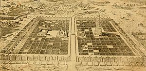 Thomas Stackhouse - A Plan of the City of Babylon from the 1795 edition of The New History of the Holy Bible.