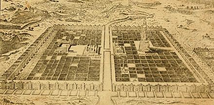 A Plan of the City of Babylon from the 1795 edition of The New History of the Holy Bible. Plan of Babylon Stackhouse.jpg