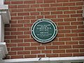 Plaque above The Porterhouse in Maiden Lane - geograph.org.uk - 1028635.jpg