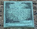 Plaque on the side of the Old John Folly - geograph.org.uk - 389786.jpg