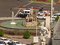 Plaza de Cibeles, fuente, Madrid, España, 2015.JPG