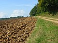 Ploughed farmland and track, Cadmore End - geograph.org.uk - 994369.jpg