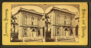 Essex Institute - Image: Plummer Hall, from Robert N. Dennis collection of stereoscopic views