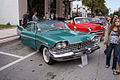 Plymouth Sport Fury 1959 RSideFront LakeMirrorClassic 17Oct09 (14413933220).jpg