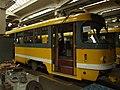 Plzeň, Vozovna Cukrovarská, tramvaj.JPG