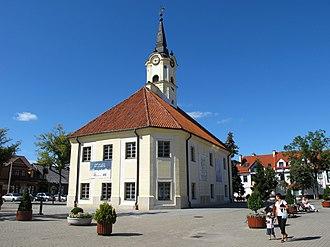 Bielsk Podlaski - Marketplace and historical town hall