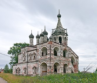 Yuryev-Polsky District - The Trinity Church (1659) in the selo of Podolets